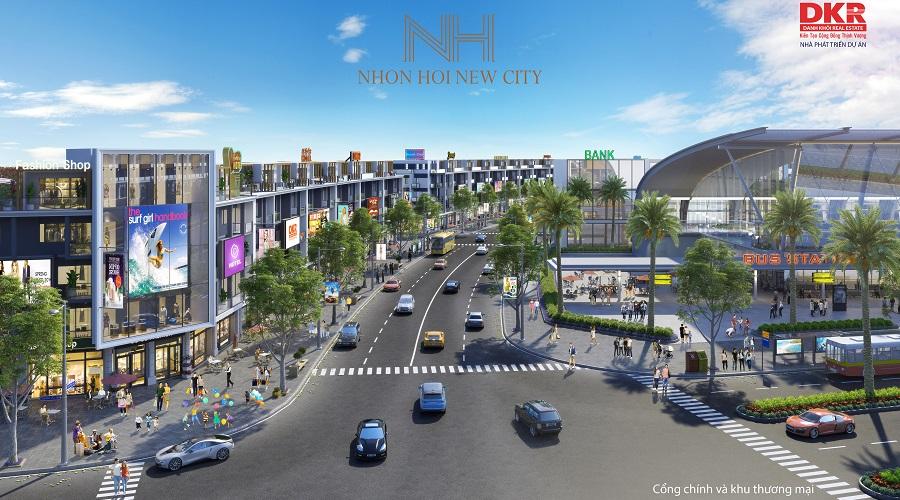 Cao tốc 19B mở toan cánh cửa phát triển siêu đô thị Nhơn Hội New City