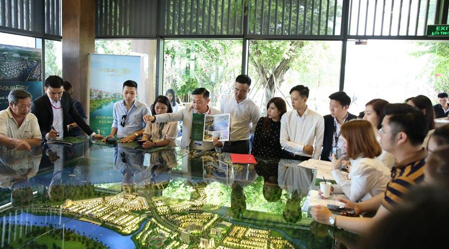 Phân khu River Park 1 thu hút khách đầu tư bởi vị trí chiến lược tại khu đô thị Aqua City