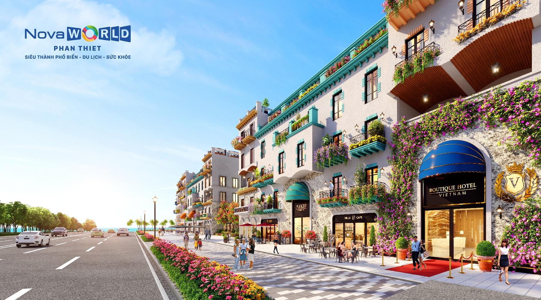 Nhà đầu tư bị cuốn hút bởi Boutique Hotel Novaworld Phan Thiet