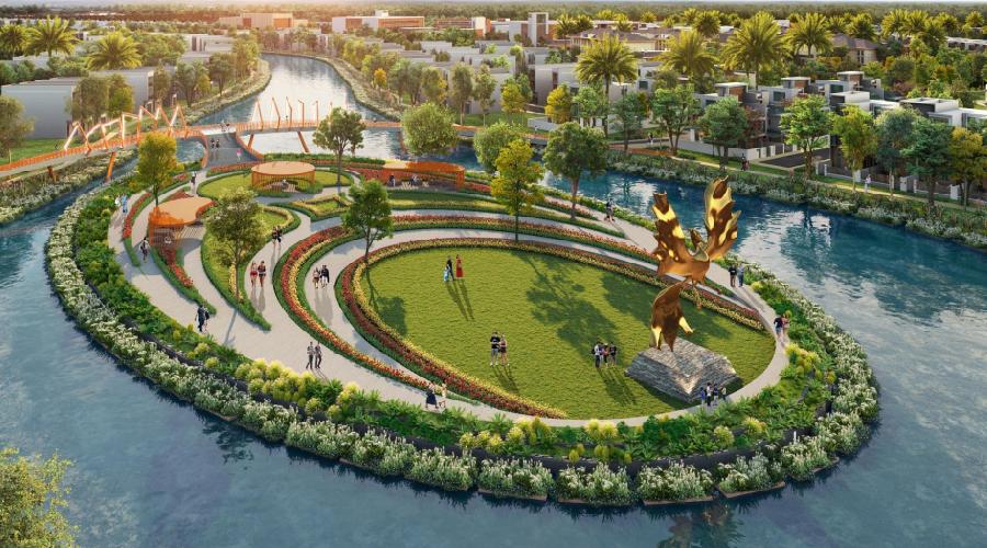 Kiến trúc nhiệt đới tạo nên nét chấm phá của Đảo Phượng Hoàng