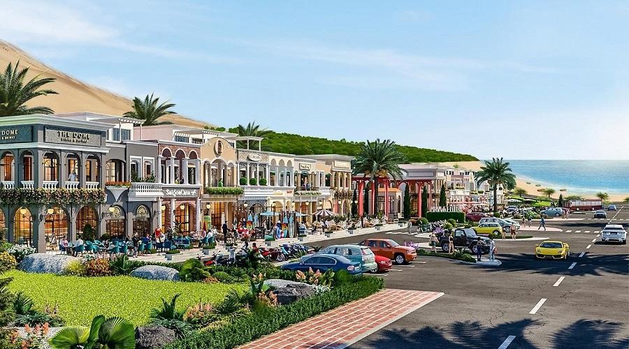 Dòng Shophouse Biển Mũi Né hấp dẫn nhà đầu tư