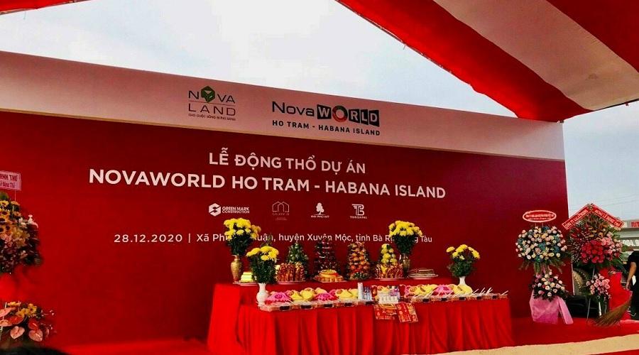 Khởi công phân kỳ đẹp nhất tổ hợp Novaworld Ho Tram - Habana Island
