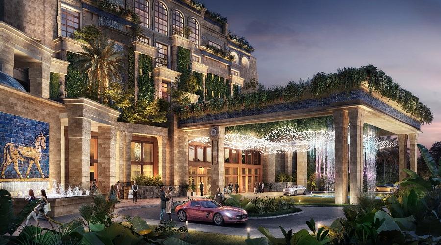 Khách sạn tiêu chuẩn quốc tế Hotel Ho Tram Mgallery đặt tại Novaworld Ho Tram