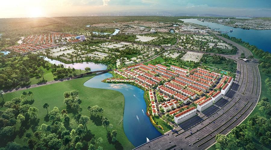 Phân khu River Park 1 thu hút giới đầu tư khu đô thị Aqua City