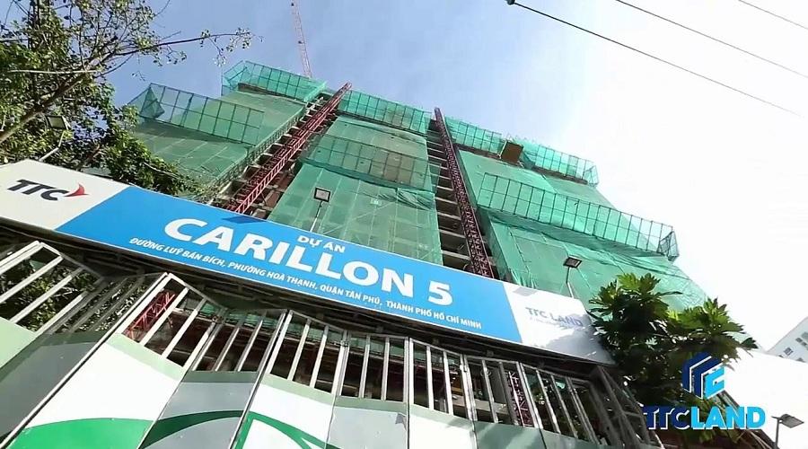 Carillon 5 sắp bàn giao khách hàng