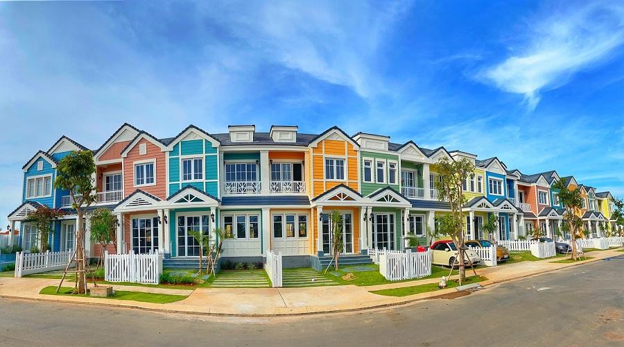 Trải nghiệm những ngôi nhà đa sắc màu Novaworld Phan Thiet