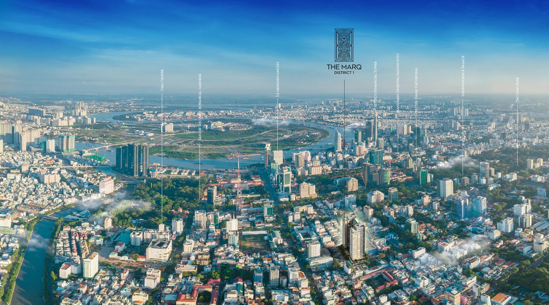 Siêu phẩm The MarQ mang dấu ấn Hongkong Land tại quận 1