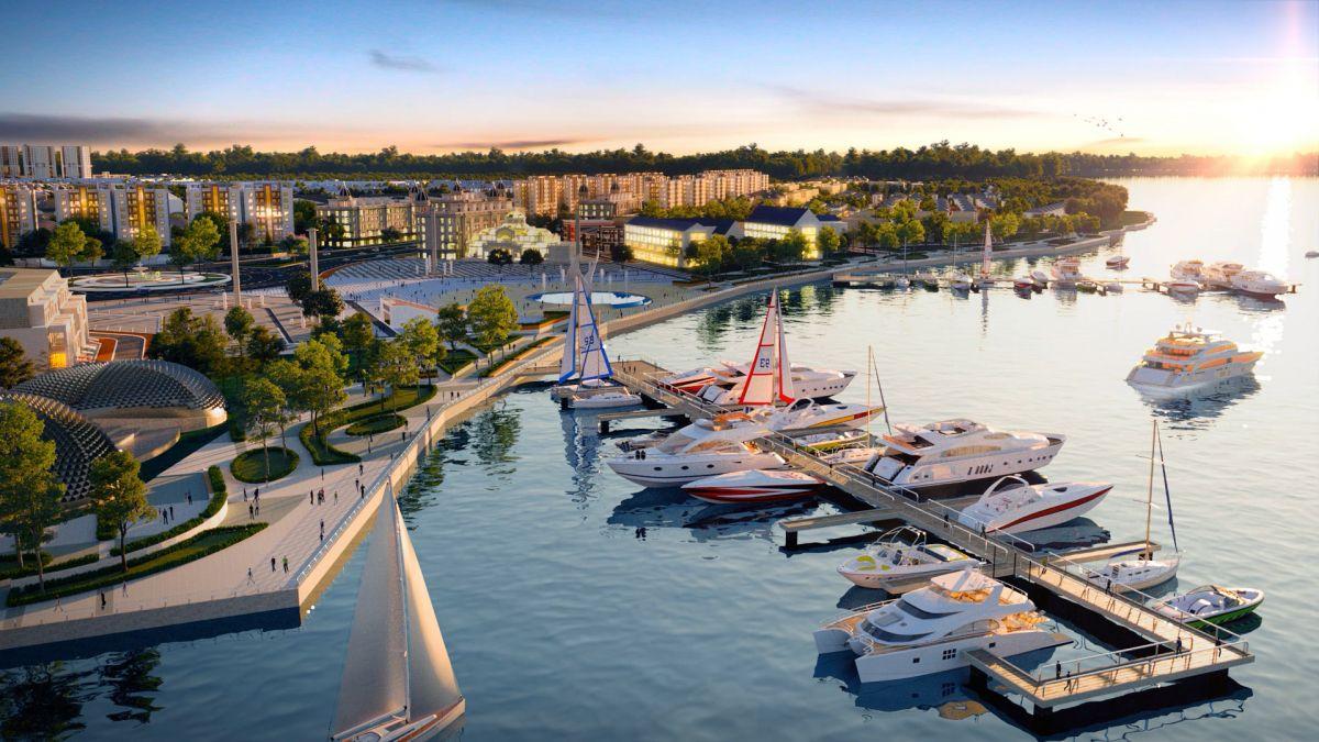 Những giá trị độc bản của bất động sản sở hữu Bến du thuyền
