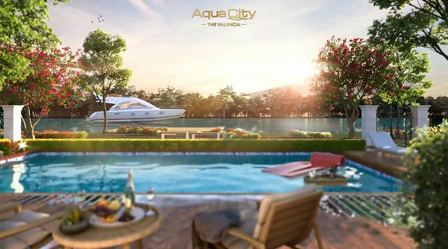 Cuộc sống tiện nghi, yên bình tại Aqua City