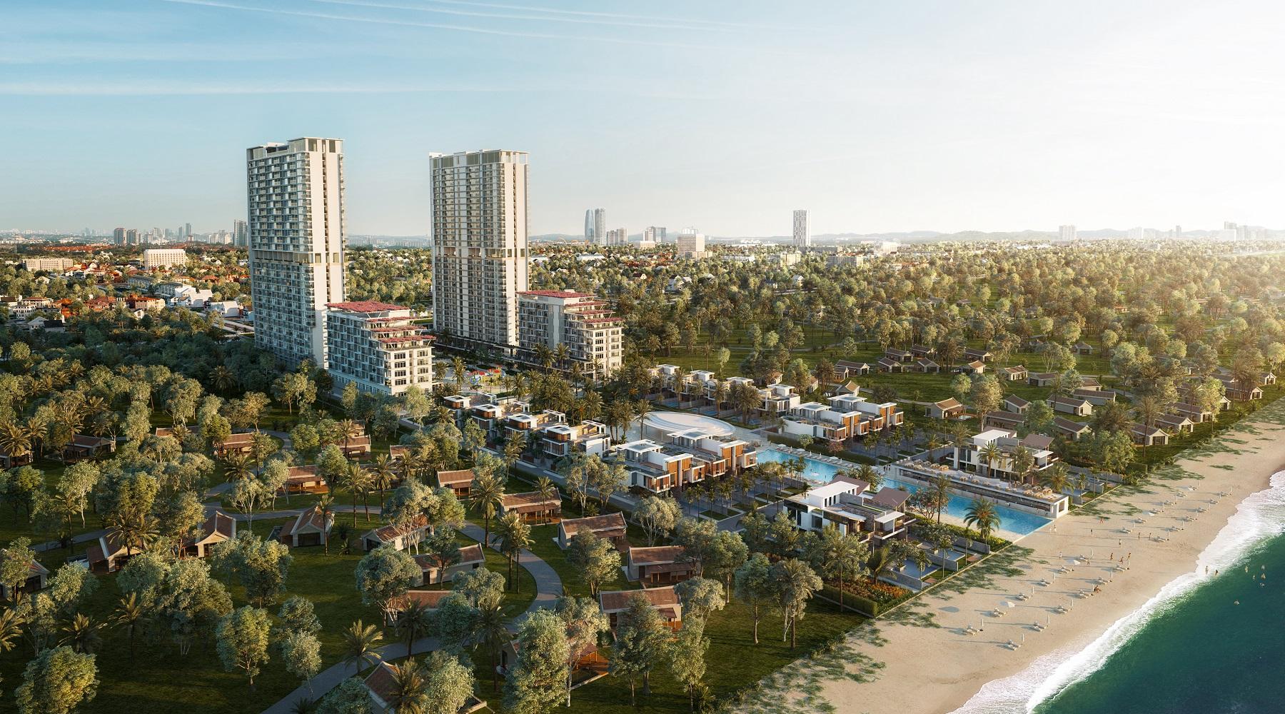 Những chia sẽ về dự án Aria Da Nang Hotel & Resort