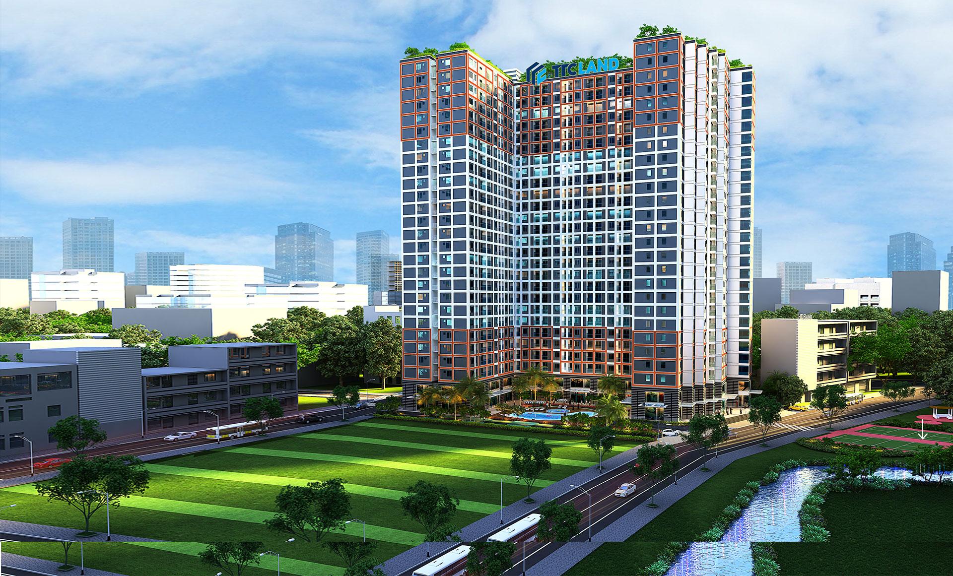 Carillon 7 thu hút mạnh mẽ khách hàng có nhu cầu mua nhà xây sẵn