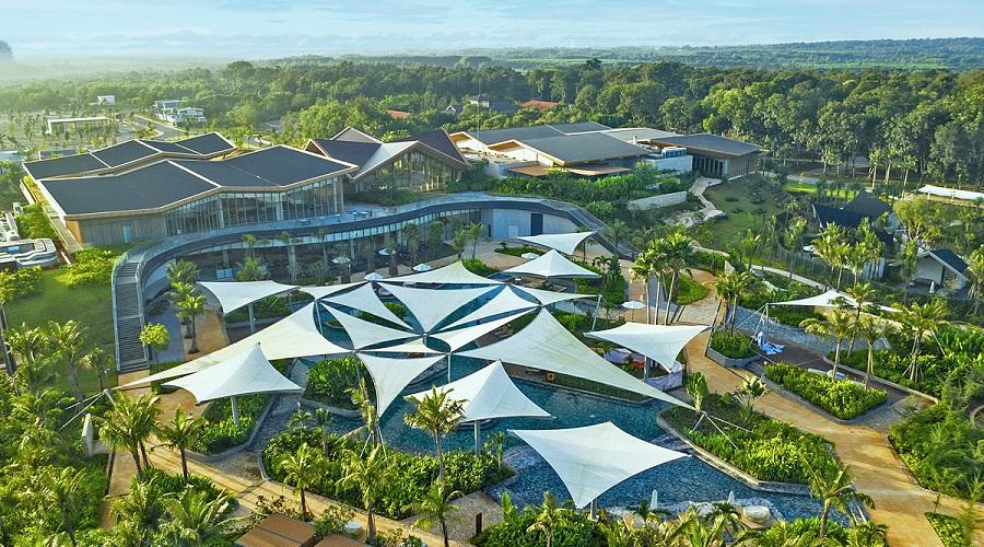Sở hữu kho báu tự nhiên với Villas suối khoáng nóng Bình Châu