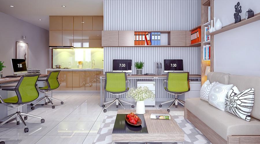 Officetel thu hút khách đầu tư vì tính đa năng và sinh lợi lớn