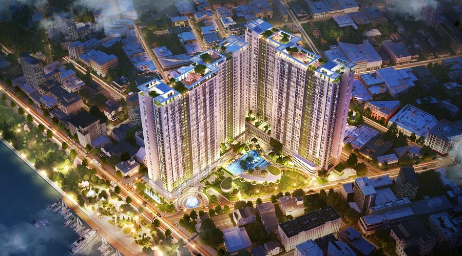 Triển khai hàng loạt các dự án căn hộ cao cấp vào trung tâm