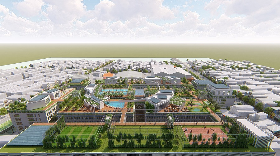 """Résultat de recherche d'images pour """"khu đô thị"""""""