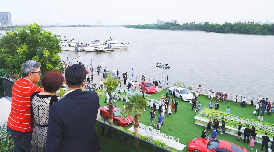 Bến du thuyền cộng hưởng giá trị cho PGA Golf Villas Novaworld Phan Thiet