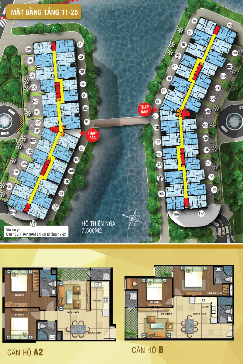 MẶT BẰNG 11-25 LUXURY HOME