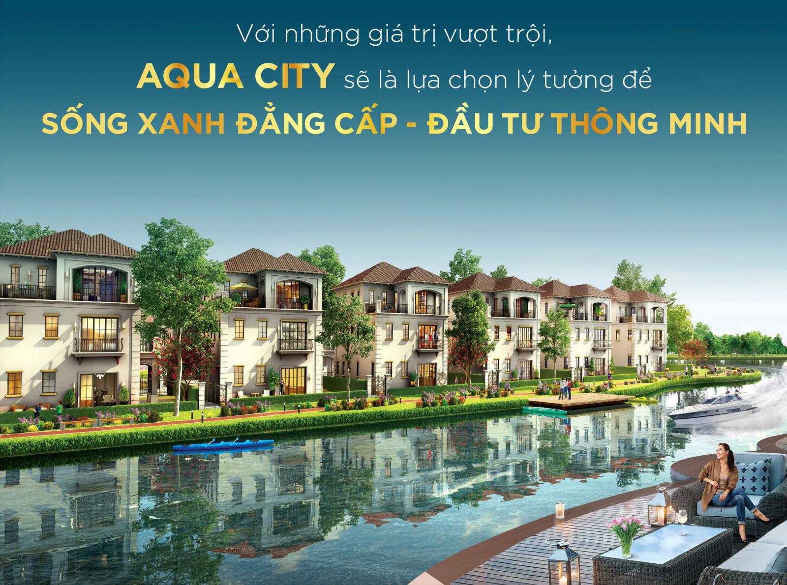 Cơ cấu sản phẩm Aqua City