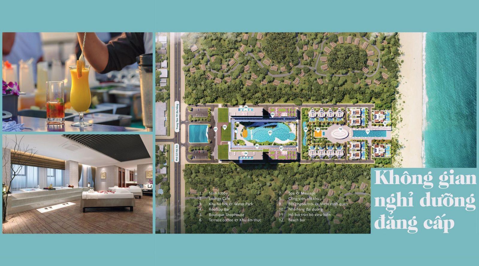 Dự án Aria Đà Nẵng Hotel & Resort (Aria DaNang Hotel And Resort) khong gian song