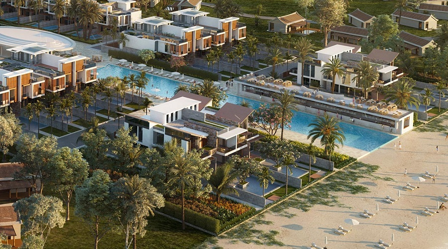 Bờ biển Aria Đà Nẵng Hotel & Resort