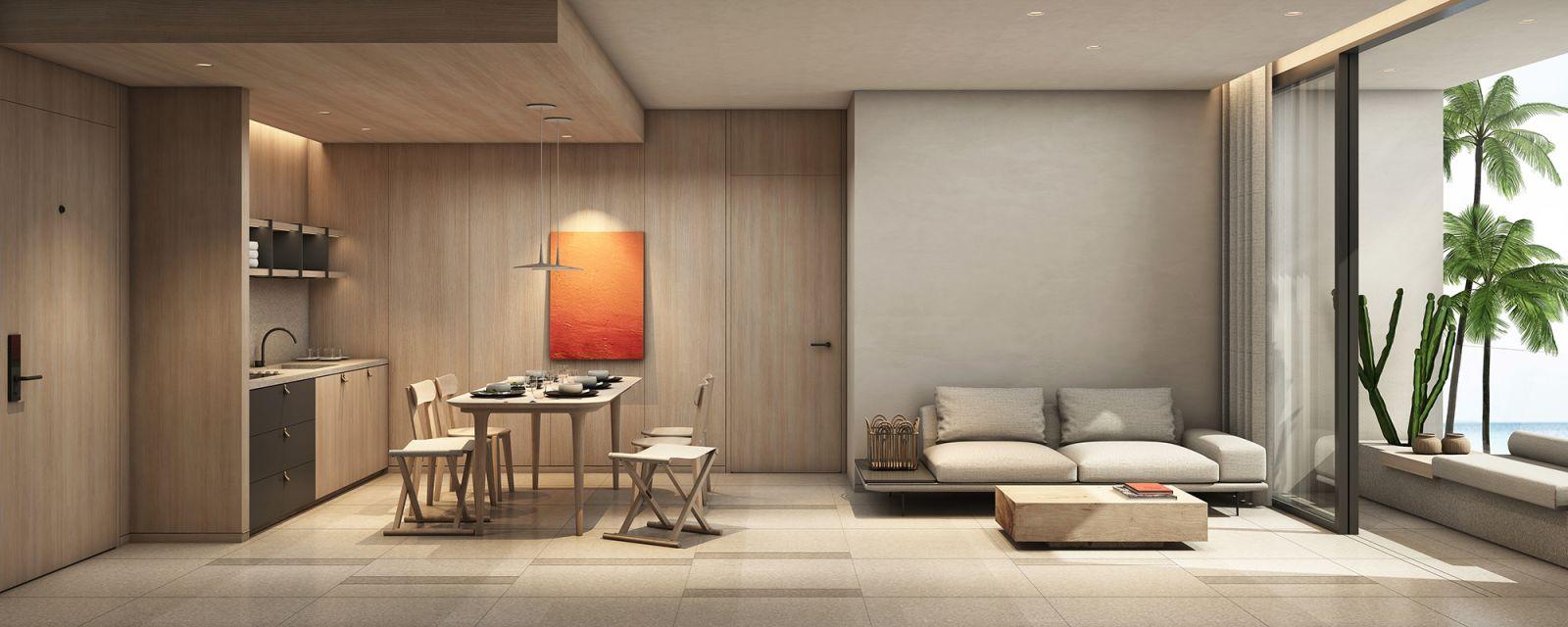 Dự án Aria Đà Nẵng Hotel & Resort (Aria DaNang Hotel And Resort) living room