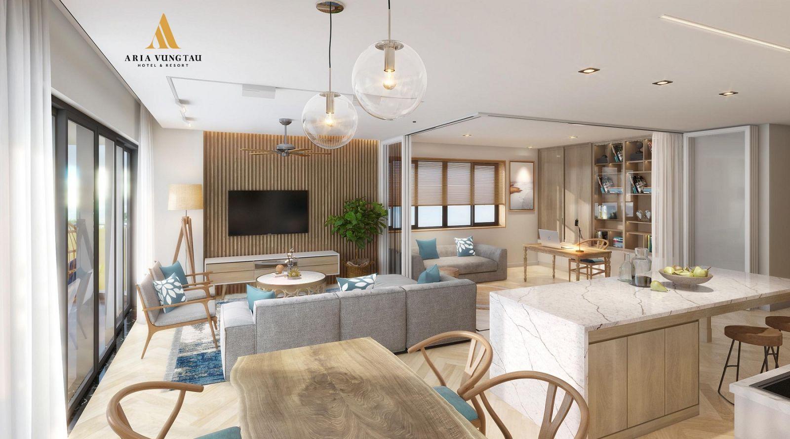Khu Bếp dự án Aria Vũng Tàu Hotel & Resort