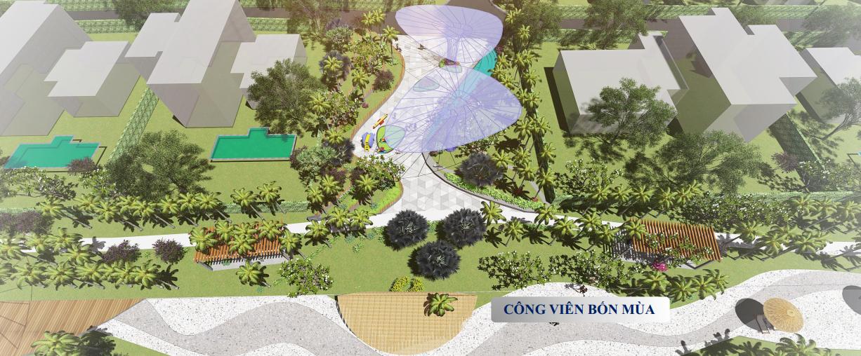 công viên chủ đề dự án Aria Vũng Tàu Hotel & Resort