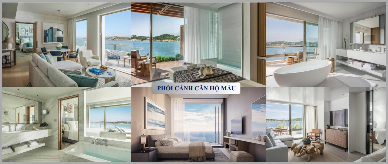 Căn hộ mẫu  Aria Vũng Tàu Hotel & Resort