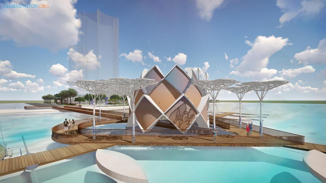 Cầu tình yêu dự án Aria Vũng Tàu Hotel & Resort