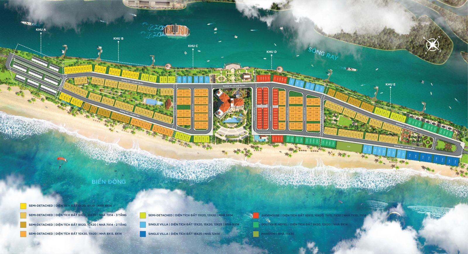 mat bang habana island novaworld ho tram