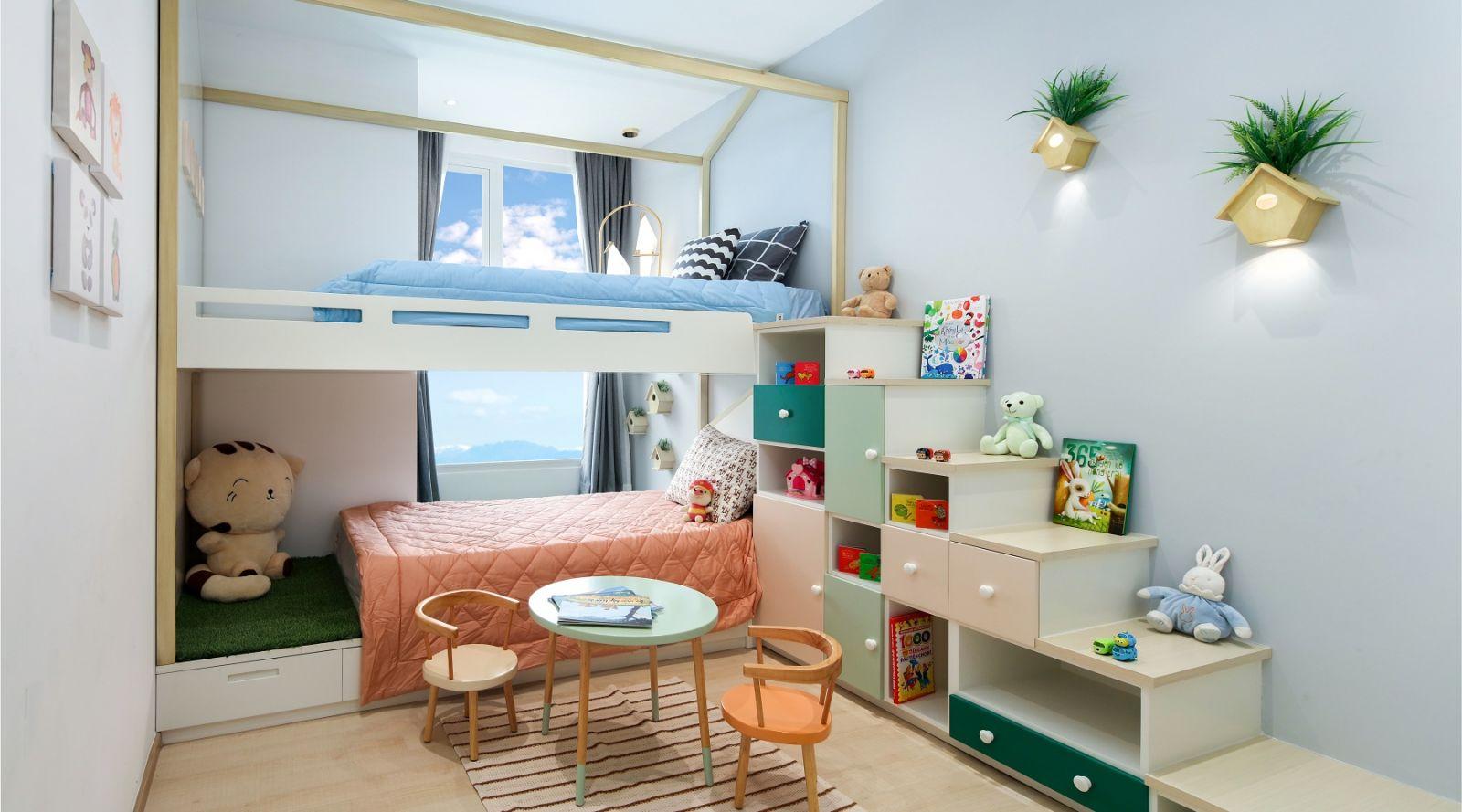 phòng ngủ trẻ em charmington iris