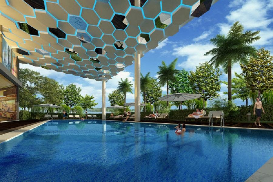 hồ bơi luxury home