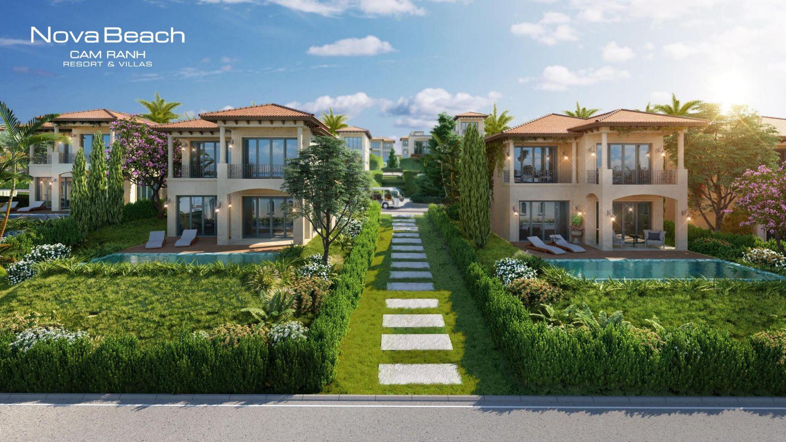 tiện ích novabeach cam ranh resort villas
