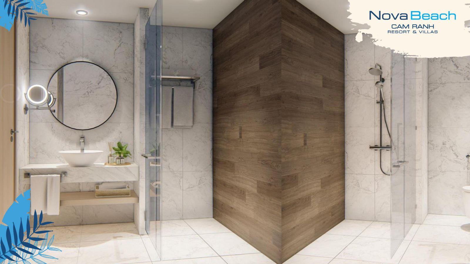 toilet novabeach cam ranh resort villa