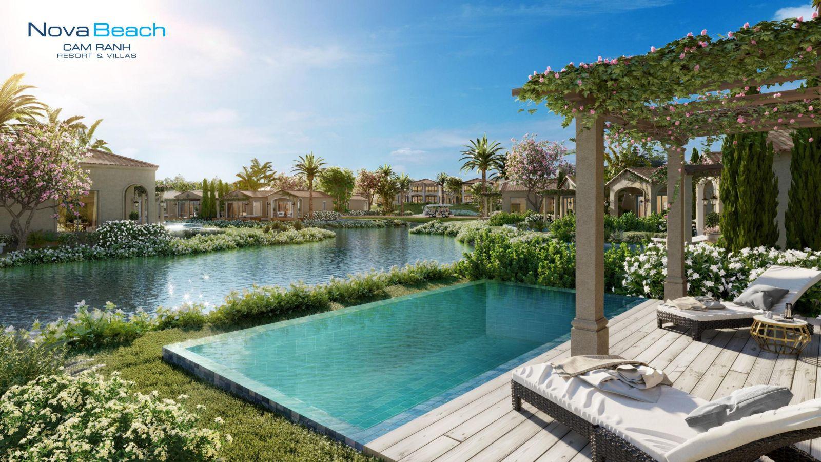 tiện ích novabeach cam ranh resort villa