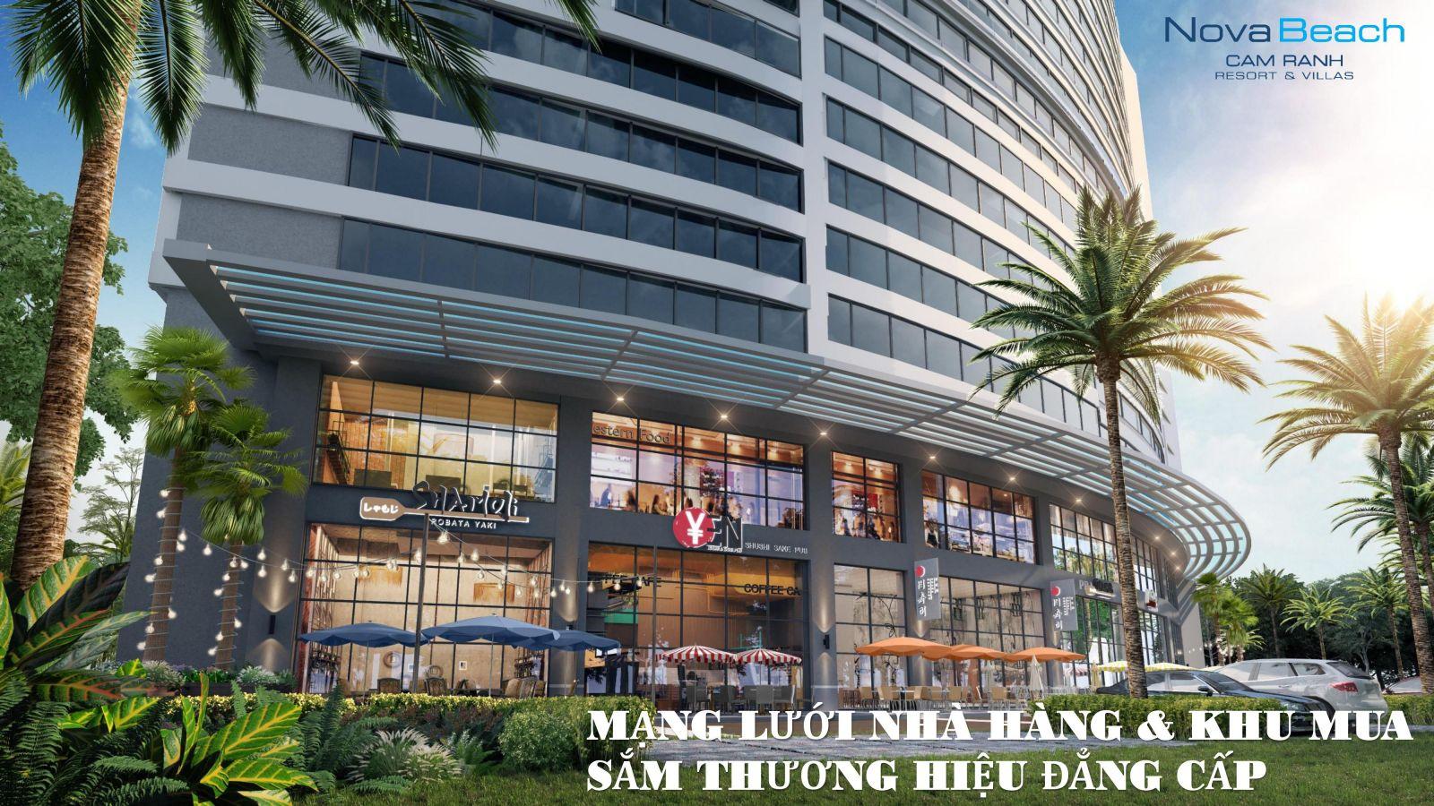 trung tâm thương mại novabeach cam ranh resort villas