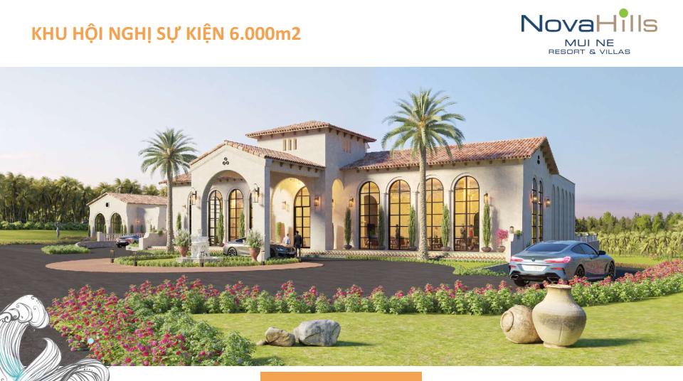 Novahills Mũi Né Resort & Hotels trung tâm sự kiện