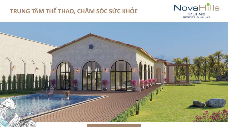 Novahills Mũi Né Resort & Hotels trung tâm thể thao và chăm sóc sức khỏe