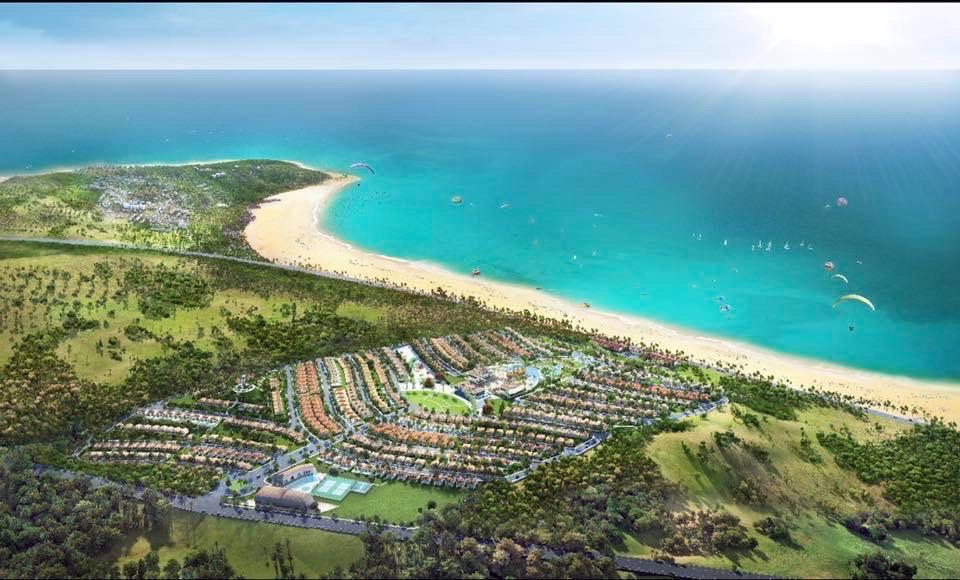 Phối cảnh tổng thể Novahills Mũi Né Resort & Villas