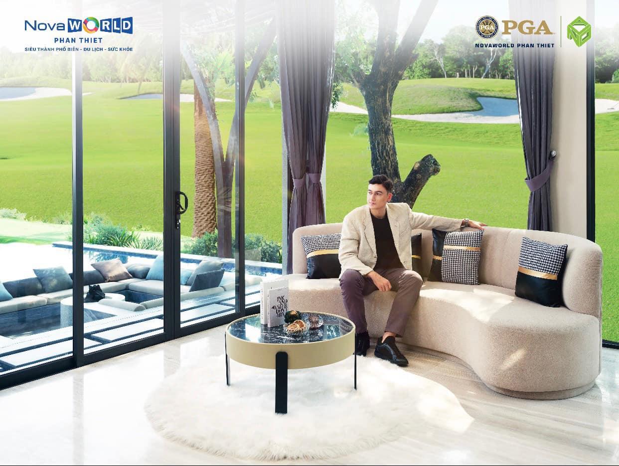 Golf Villas trong khu nghỉ dưỡng luôn là nơi trong lành nhất