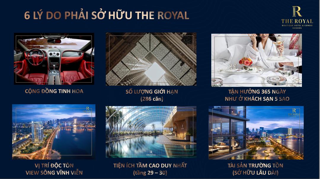 lý do chọn mua the royal boutique hotel and condo da nang