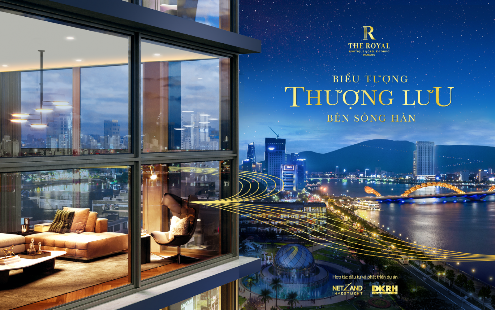 The Royal Da Nang Boutique Hotel & Condo - Biểu tượng thượng lưu bên sông hàn