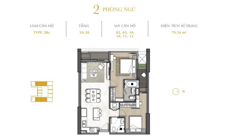 Dự án The Royal Boutique Hotel & Condo Đà Nẵng 02 room