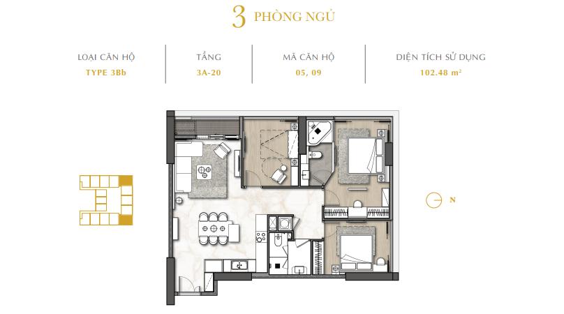 Dự án The Royal Boutique Hotel & Condo Đà Nẵng 03 room
