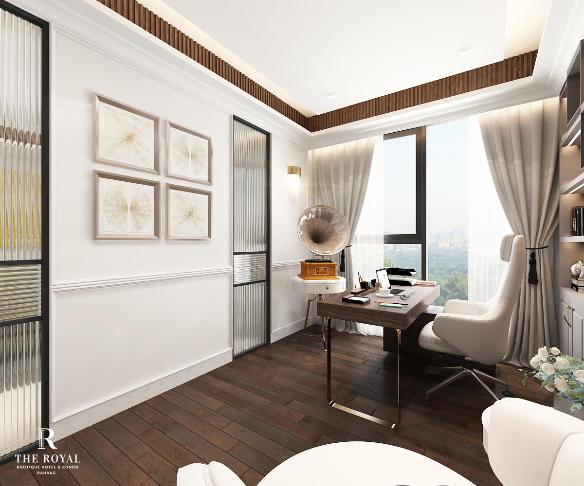 Dự án The Royal Boutique Hotel & Condo Đà Nẵng đọc sách
