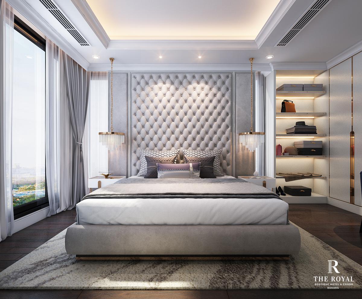 Dự án The Royal Boutique Hotel & Condo Đà Nẵng phòng master