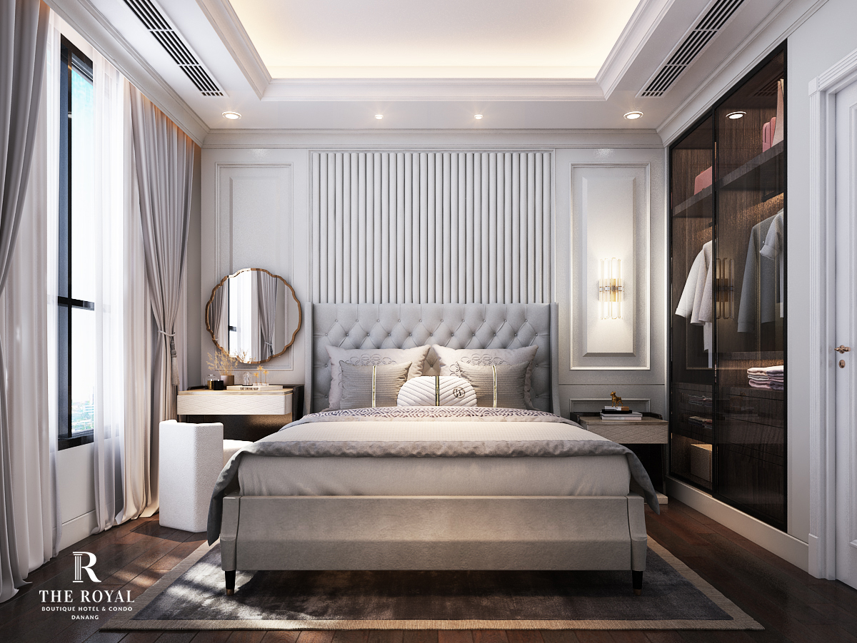Dự án The Royal Boutique Hotel & Condo Đà Nẵng phòng ngủ 2