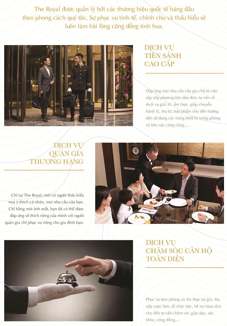 Dự án The Royal Boutique Hotel & Condo Đà Nẵng dịch vụ
