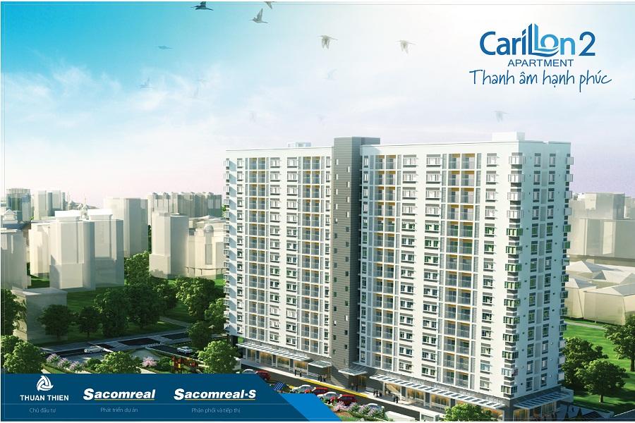 Phối cảnh dự án carillon apartment 2 tân phú