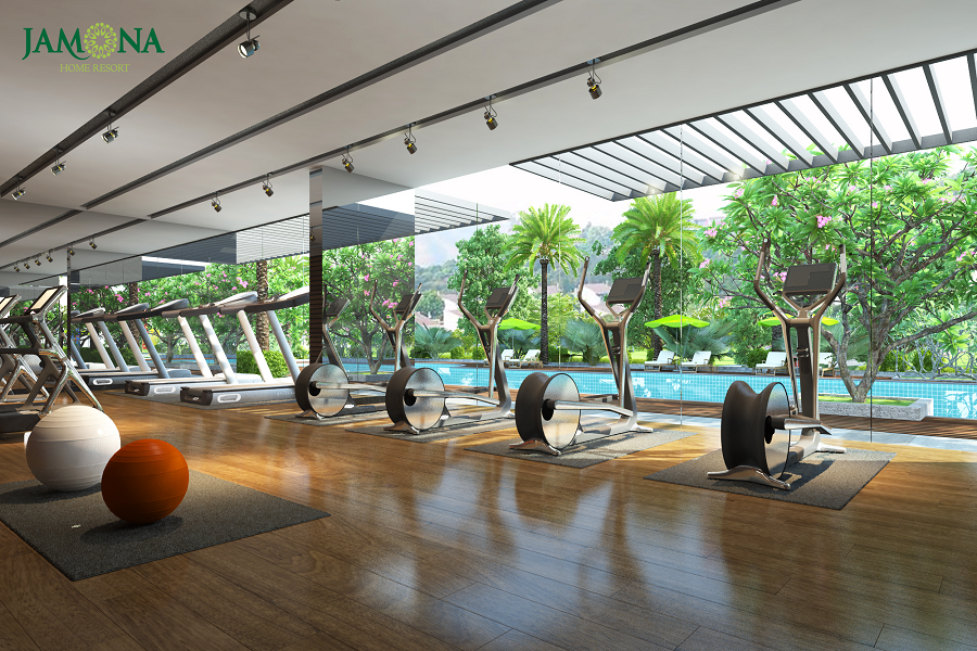 gym jamona home resort